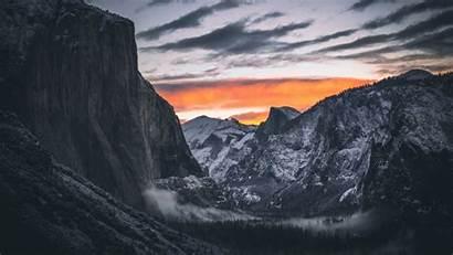 Dark Forest Yosemite Imac Mountain Valley 4k