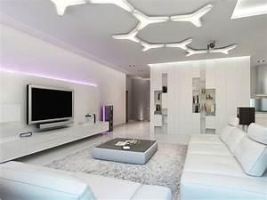 Lampen Wohnzimmer Decke : moderne deckengestaltung 83 schlaf wohnzimmer ideen ~ A.2002-acura-tl-radio.info Haus und Dekorationen