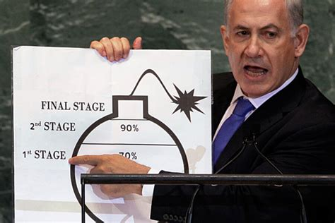 netanyahus simple bomb graphic confuses  nuclear experts csmonitorcom