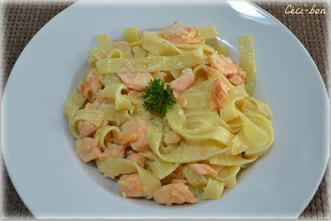 tagliatelles au saumon et lait de coco c 233 ci bon
