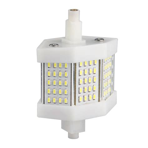 r7s 78mm 60 smd led white halogen flood light l bulb 6w