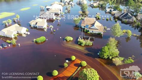 longs sc historic flooding  hundreds  homes  water waccamaw river crest