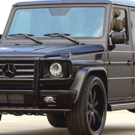 mercedes jeep matte black inside matte black mercedes g wagon my car gwagon range rover