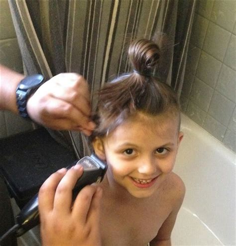 Mom Allows Sixyearold Daughter To Shave Her Head To Send A Message About Girls And Beauty