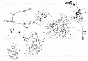 Polaris Atv 2001 Oem Parts Diagram For Electrical  Taillight