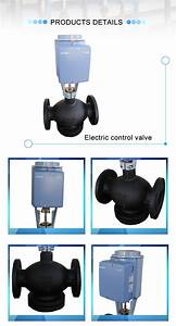 China Modbus Control Valve 2 Way Thermostatic Valve