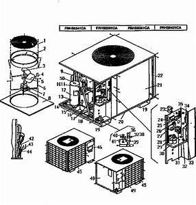 Coleman Heat Pump Outside Unit  Genuine Parts
