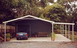 Construire Un Carport : garage en bois ou carport pour votre voiture 1 2 tout ~ Premium-room.com Idées de Décoration