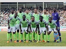 Préparatifs Mondial 2018 La compo du Nigeria contre l
