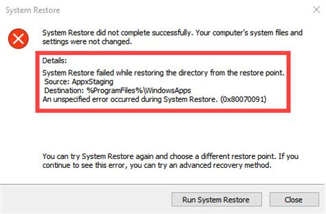 solved system restore error 0x80070091 in windows 10 windows 10 free apps windows 10 free apps