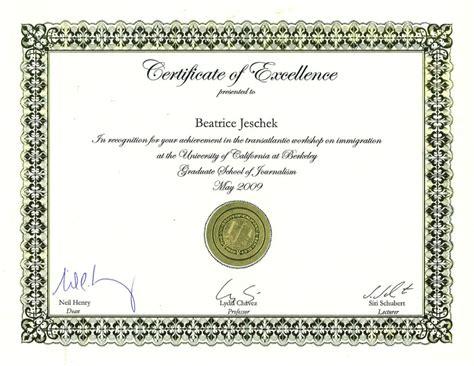 printable certificate template certificate of excellence template certificate templates