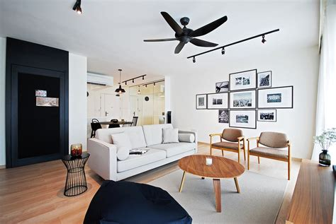 Grey Living Room Hdb by 8 Hdb Flats To Get Your Reno Inspiration From Squarerooms