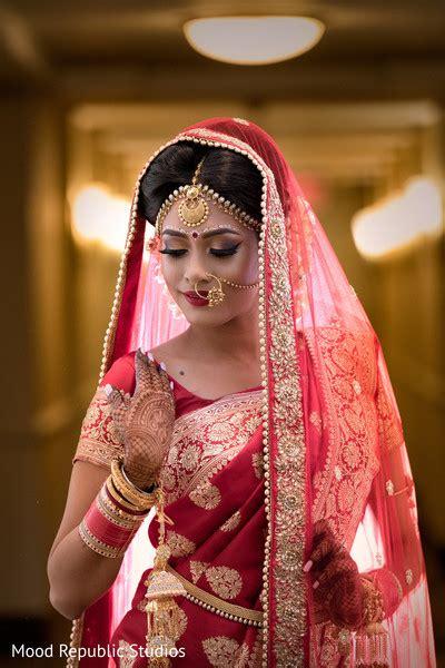 bengali bride wedding style photo