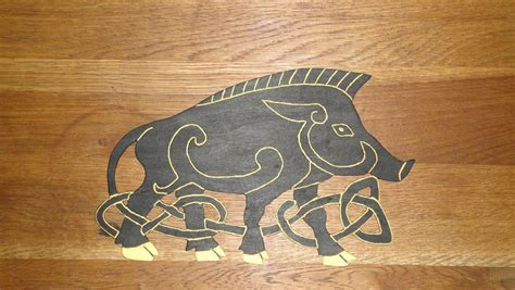 Gallery For> Celtic Boar Drawing