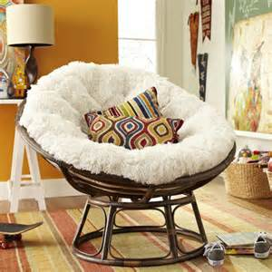 shaggy sand papasan cushion pier 1 imports