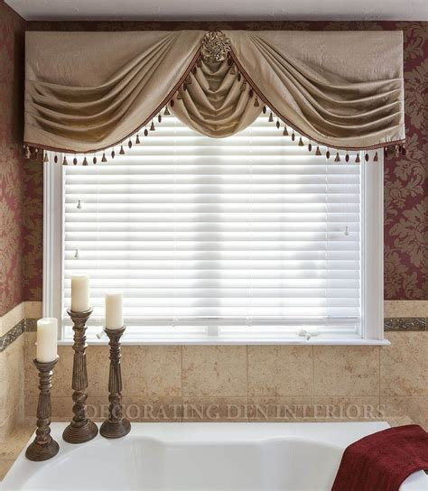 side swags  center swag choux valances pinterest