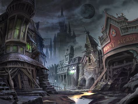 Original Epic Mickey Concept Art Large Images Neogaf