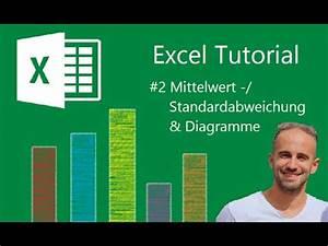 Excel Standardabweichung Berechnen : excel mittelwert standardabweichung und diagramme ~ Themetempest.com Abrechnung