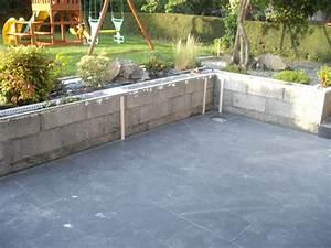 Terrasse Avec Muret : muret de terrasse construction maison b ton arm ~ Premium-room.com Idées de Décoration
