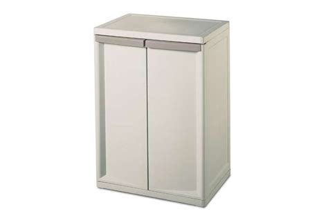Sterilite Storage Cabinet by Sterilite 2 Shelf Cabinet 01408501 Vminnovations