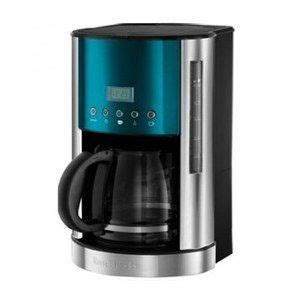 The machine is unique in that it roasts, grinds and brews its beans. פרקולטור 1862956 Russel Hobbs Russell hobbs