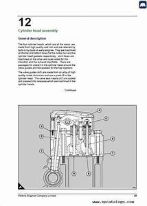 Perkins 3012  Cv12 Engine 3000 Series Workshop Manual Pdf