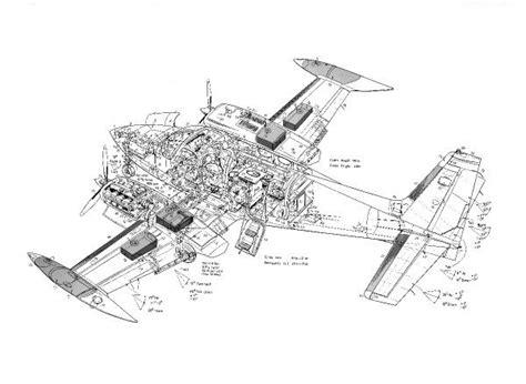 cessna 340 cutaway drawing photo prints 1569505 from flightglobal