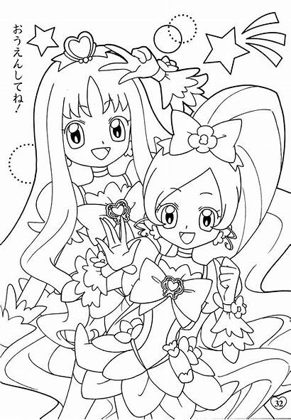 Coloring Cure Pretty Precure Heartcatch Zerochan Fresh