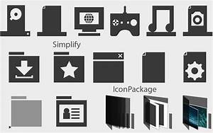 Simplify IconPackage by gladi8r on DeviantArt