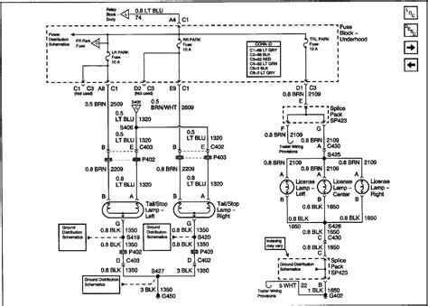 2002 Gmc Sonoma Wiring Diagram Light by I A 2002 Gmc Sonoma The Rear Light