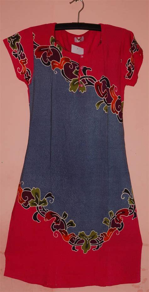 daster batik aninda dress batik daster rayon cv pertiwi anggun