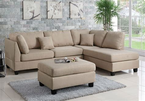 Chaise And Ottoman by Modern Sectional Sofa Corner Reversible Chaise