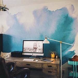 17 best ideas about watercolor wallpaper on pinterest With best brand of paint for kitchen cabinets with pop art wall mural