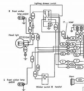 Honda Super Cub 50 Wiring Diagram