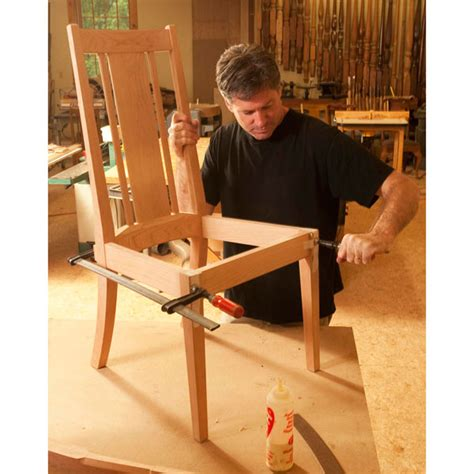 step  step elegant chair woodworking plan  wood magazine