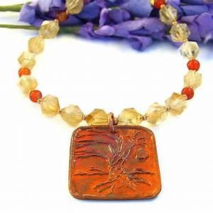 Tree of Life Yggdrasil Copper Pendant Necklace, Handmade ...