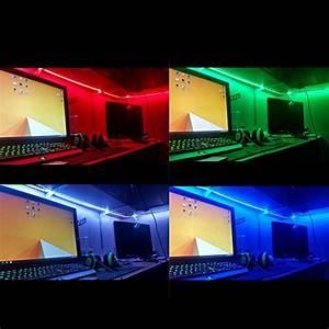 LE Waterproof 12V 16.4ft/5m Flexible RGB LED Strip Light ...