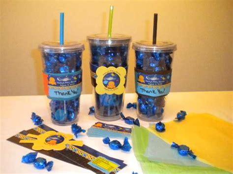 Baby Shower Door Prize Ideas - baby shower prize idea plastic water bottles filled