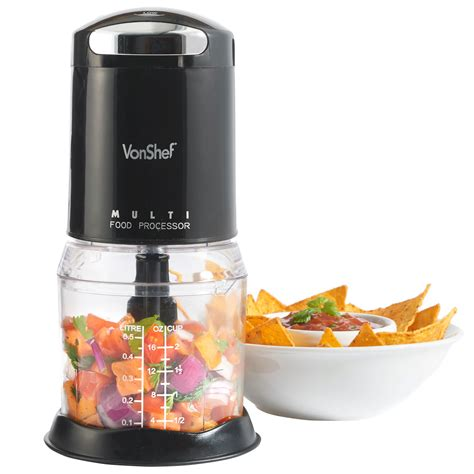 cuisine blender vonshef food chopper processor mini electric kitchen 250w