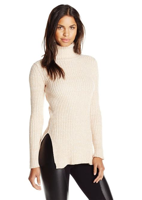 fitted sweaters for womens bcbg bcbgeneration 39 s textured turtleneck fitted