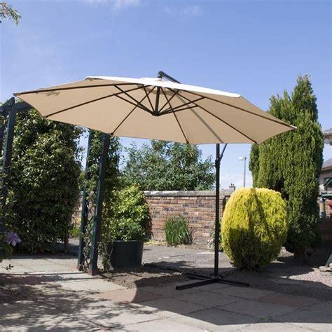 garden sun shades parasols 25 best ideas about cantilever parasol on garden parasols large patio umbrellas