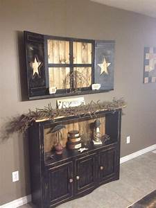 360 best rustic primitive country decorating ideas With best brand of paint for kitchen cabinets with wall art for entryway