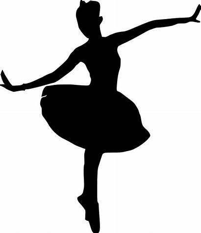 Ballerina Silhouette Ballet Transparent Dancer Background Shoe