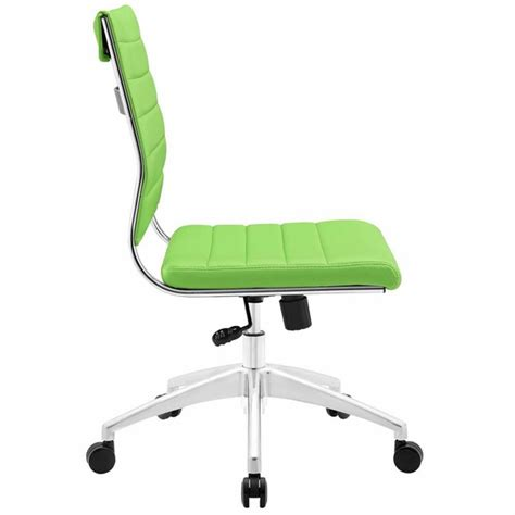 jive armless mid back office chair modern in designs