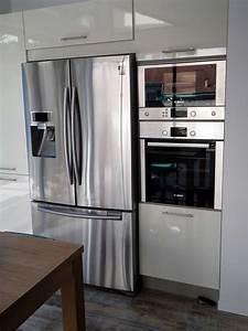 frigo americain dans cuisine equipee galerie et frigo With frigo americain dans cuisine equipee