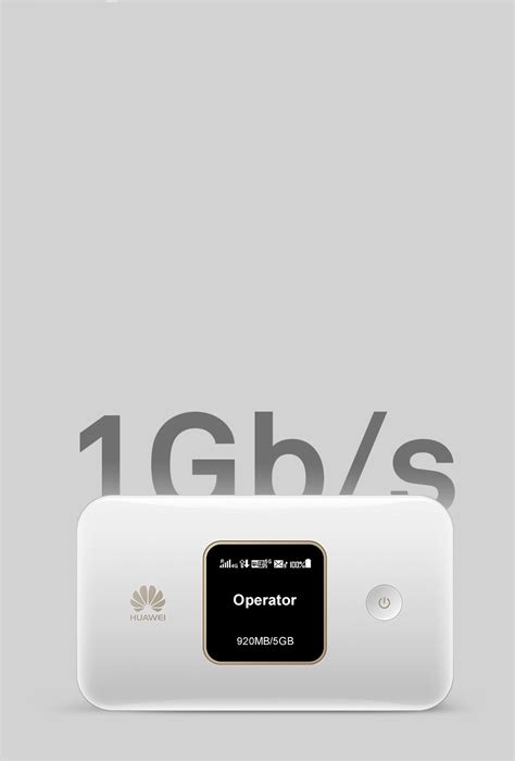 HUAWEI Mobile WiFi E5785, 1 Gbps ultra-speed, Portable