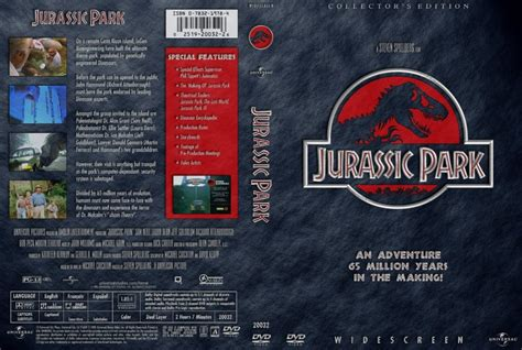 Jurassic Park Cover by Jurassic Park Movie Dvd Custom Covers 142jurassic Park