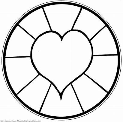 Coloring Pages Simple Mandala Detailed