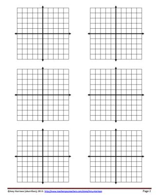free graph paper with x and y axis math teaching math in a reality