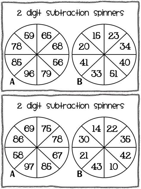 Making ten decomposing a number leading to a ten using the relationship between addition and subtraction. Subtraction freebie! - Susan Jones